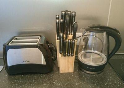 P116 EG Küche Toaster Wasserkocher