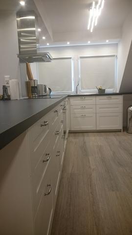 Küchenfront Theke längs