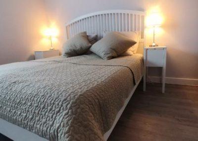 Master bedroom bed 1