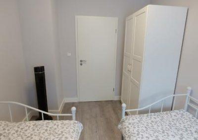 second bedroom door